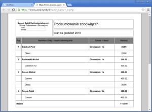 eDziennik - Płatności